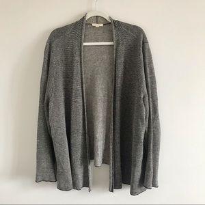 Eileen Fisher Linen Open Front Cardigan 3X
